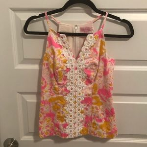 Lilly Pulitzer Top🌸🍃